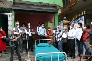 सिड्स नेपाल धादिङद्वारा थाक्रे गाउँपालिकालाई स्वास्थ्य सामाग्री सहयोग