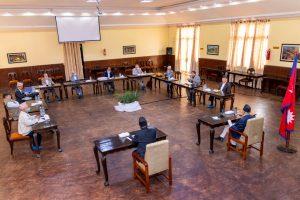 नेकपा सचिवालय बैठक बालुवाटारमा जारी, यस्तो हुँदैछ निर्णय !