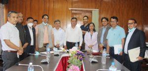 निर्माण व्यवसाय ऐन र सार्वजनिक खरिद ऐन सँगसँगै संशोधनका लागि पहल गर्छु : मन्त्री नेम्बाङ