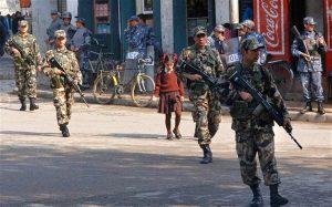 काेराेना संक्रमण बढ्दै गएपछि सेना परिचालनको तयारी