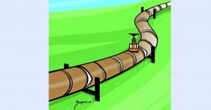 पेट्रोलियम पाइप लाइन : सर्भे अन्तिम चरणमा