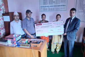 एभरेष्ट बैंकद्वारा पाँच विद्यार्थीलाई छात्रवृत्ति प्रदान