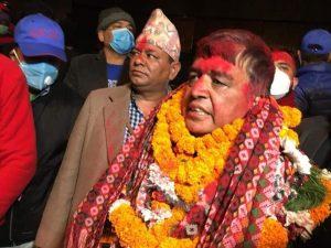 नेपाल उद्योग वाणिज्य महासंघको वरिष्ठ उपाध्यक्ष पदमा चन्द्रप्रसाद ढकाल विजयी