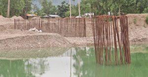 निकुञ्जभित्र धमाधम पुल निर्माण