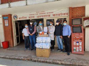 नेपाल चेम्बरले दियो ६ सरकारी अस्पताललाई अत्यावश्यक स्वास्थ्य सामग्री