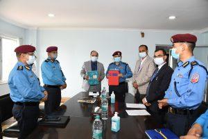 नेपाल प्रहरी र राष्ट्रिय वाणिज्य बैंकबीच सम्झौता, बैंकले बिना धितो पेशाकर्मी सरल कर्जा दिने