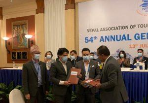 ज्योति विकास बैंक र नाटाबीच सम्झौता : विशेष छुटमा प्रोफेसनल लोन, कर्जा सेवा प्रदान गर्ने