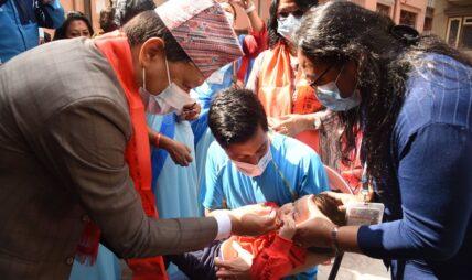 ८० हजार बालबालिकालाई भिटामिन 'ए' र जुकाको औषधि खुवाउने महानगरको लक्ष्य